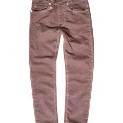 Jogging jeans donkerbruin