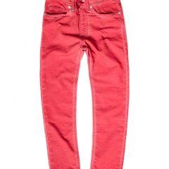Jogging jeans rood