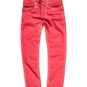 Jogging jeans rood