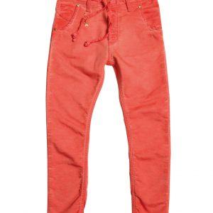 Jogging jeans oranje