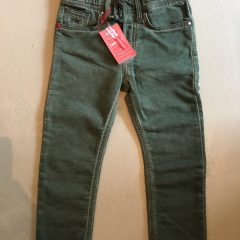 Jogging jeans kids, regular fit, groen-770