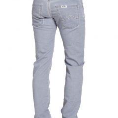 Jogger jeans heren, regular fit, lichtgrijs-807