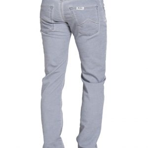 Jogger jeans heren, regular fit, lichtgrijs-807
