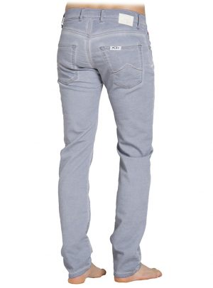 Jogg Jeans Heren, Regular Fit, Lichtgrijs-807