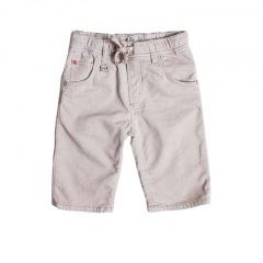 Jogg jeans korte broek kids, beige-162
