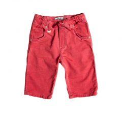 Jogg jeans bermuda rood kids-445