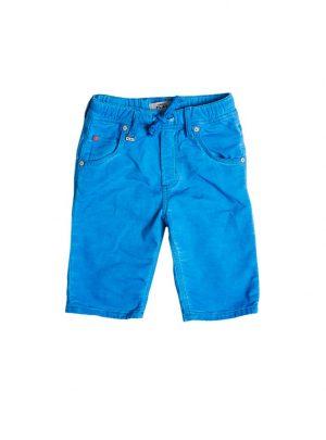 jogg jeans bermuda kids, lichtblauw-620