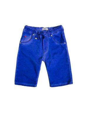 Jogging Jeans Bermuda Kids, Kobalt-654