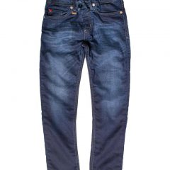 Jogging jeans donkerblauw