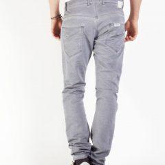 Jogger jeans heren, baggy fit, grijs-854