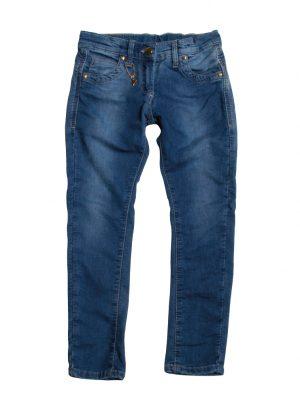 Jogging jeans blauw