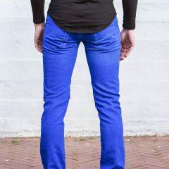 Jogger jeans kobaltblauw regular fit-654
