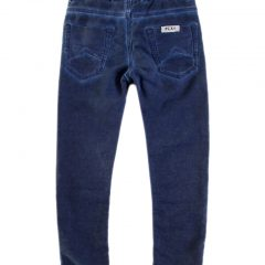 Jogging jeans kids, regular fit, donkerblauw-681