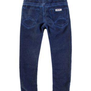 Jogging jeans kids, regular fit, donkerblauw-681