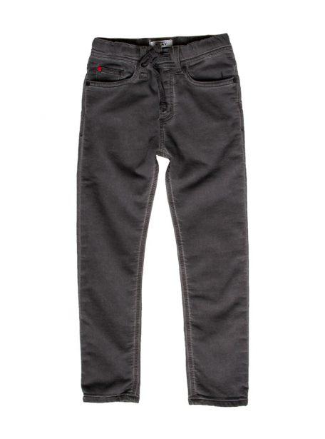 Jogging jeans donkergrijs