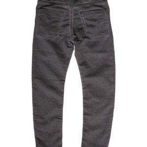 jogging jeans kids, slim fit, donkergrijs-899