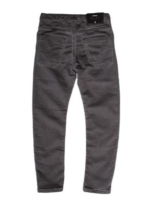 jogging jeans kids, slim fit/baggy, donkergrijs-899