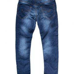 Jogging jeans kinderen, regular fit, blauw-710