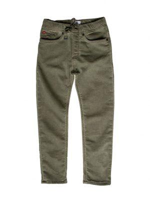 Jogging jeans legergroen
