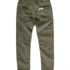 Jogging jeans kinderen, regular fit, legergroen-774