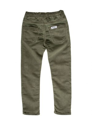 Jogging jeans kinderen, regular fit, legergroen-774