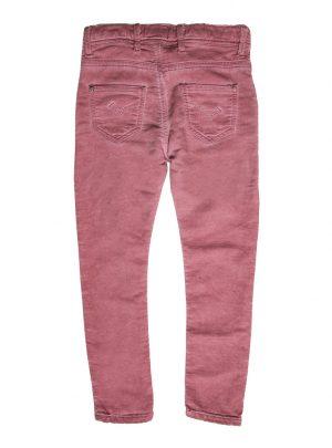 Jogging jeans girls, skinny, oudroze-456