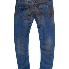Jogging jeans girls, skinny, blauw-125