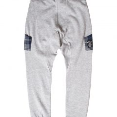 Joggingbroek kids slim fit, baggy grijs-842
