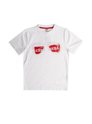 T-shirt voor kinderen, wit-004