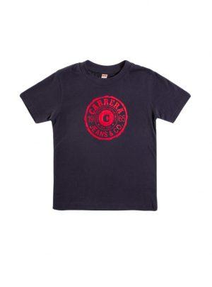 T-shirt voor kinderen, donkerblauw-686