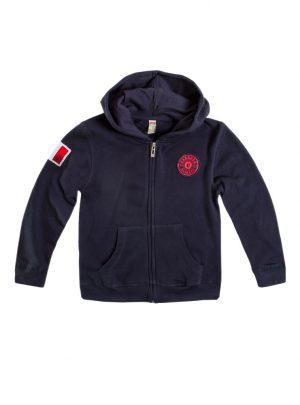 Vest donkerblauw voor kids-686