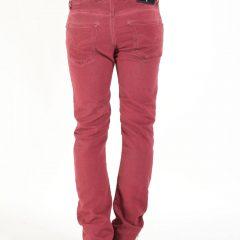 Jogg jeans heren bordeaux, regular fit-488 (valt lang)