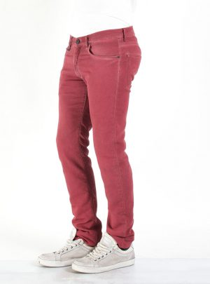 Jogg Jeans Heren Bordeaux, Regular Fit-488 (valt lang)