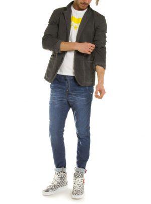 Colbert jogg jeans donkergrijs-899