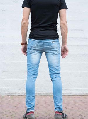 Jogg jeans unisex, lichtblauw-031
