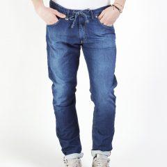 Jogg jeans heren slim fit, blauw-002