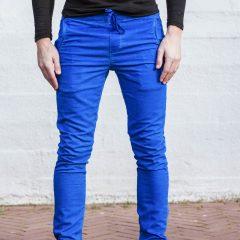 Jogg jeans kobaltblauw
