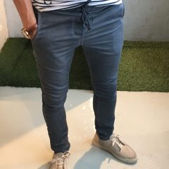 Jogg jeans slim fit grijs