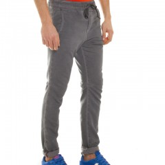 Jogger jeans heren, slim fit-896