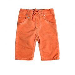 Jogging jeans bermuda-oranje 388