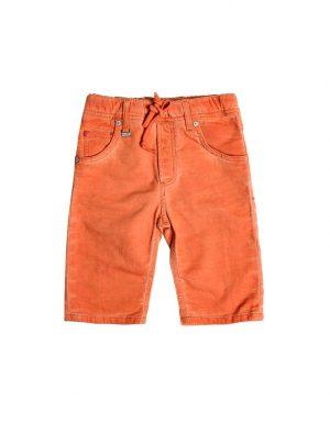 Jogging Jeans Bermuda Kids-Oranje 388