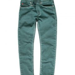 Jogging jeans kinderen, regular fit, groen-782