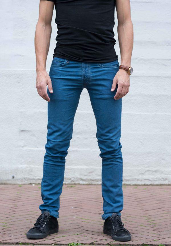 jogg jeans petrolblue