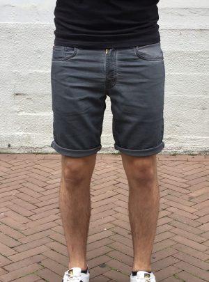 Jogg jeans korte broek grijs