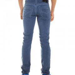 Jogging jeans heren, petrolblue-687