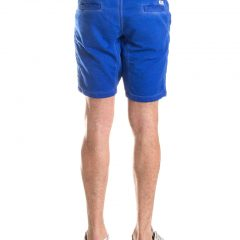 Jogging jeans bermuda sportief, kobaltblauw-654