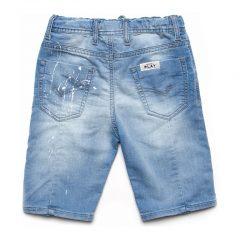 Jogging jeans korte broek kinderen, spijker-582