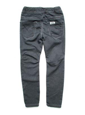 Jogging jeans kids, mooi aangesloten, donkergrijs-896