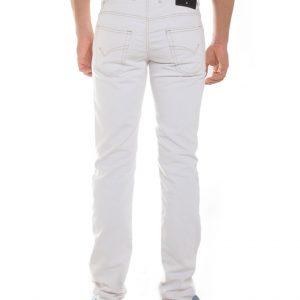 Jogging jeans wit heren, regular fit-003