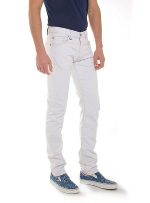 jogg jeans wit
